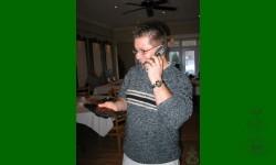 Gagnante du tirage annuel 2006: Isabelle Dion. (Absente, son conjoint l'avise par téléphone).