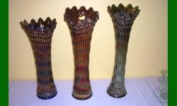 3 Vases Rustic