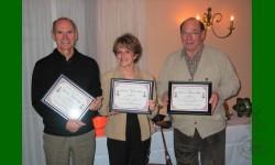 Reconnaissance 2006 va à Louis, Sylvie et Jean-Guy Richer. Organisateurs du 20e anniversaire.
