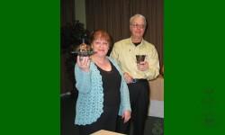 Notre hôte Rémi et sa conférencière Marielle