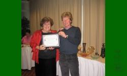Prix reconnaissance Léo-Richer 2008 va à Normand Desrosiers. Fidélité et excellent doigté au PEP