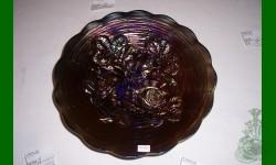 1er prix Tirage annuel 2008: Rose Show. Assiette. Bleu