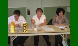 Secrétaires/trésorières: Andrée, Marielle, Denise
