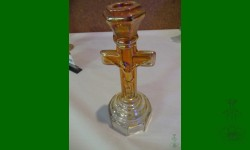 Crucifix, Imperial. Porte bougie, simple