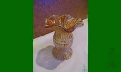 File, Imperial. Vase, fantaisiste. Orangé