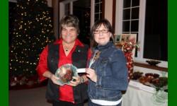 L'heureuse gagnante:  Eliane Roy Riendeau