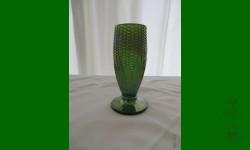 Corn vase, Northwood. Vert