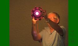 Grâce à Yvan ce bol est passé du améthyste noirâtre à ROUGE. Paul est enjoué!