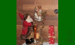 ....Père Noël toujours présent à la rencontre des Fêtes...