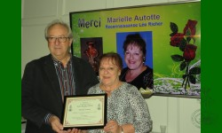 1e Prix reconnaissance Léo-Richer 2016 va à Marielle Autotte