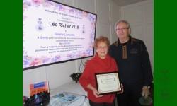Prix reconnaissance Léo-Richer 2018 va à Gisèle Lamothe