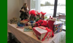Père Noël et ses cadeaux