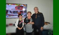 Gagnante du tirage annuel 2018, Marielle Autotte