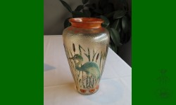 Stork Vase, Jenkins. Vase