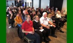 Membres attentifs, présentation reconnaissance Léo Richer